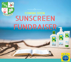COMING SOON ! SUNSCREEN FUNDRAISER